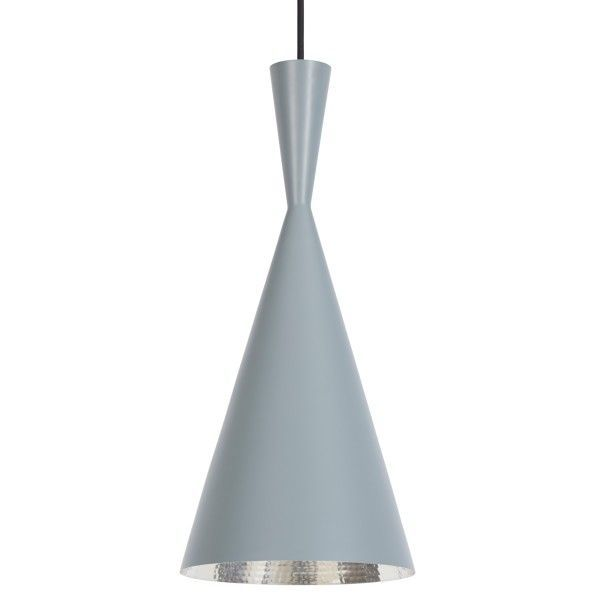 Tom Dixon Beat Light Tall hanglamp-Grijs