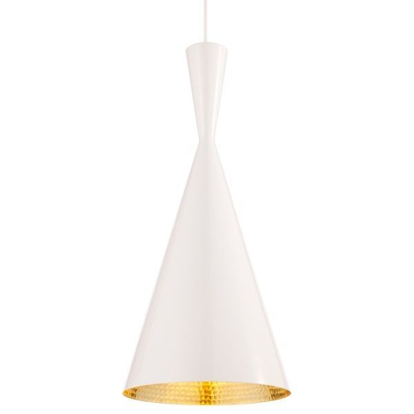 Tom Dixon Beat Light Tall hanglamp-Wit