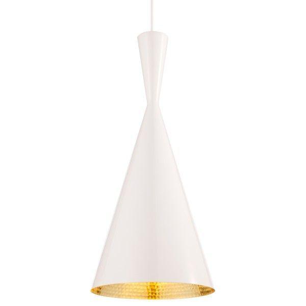 Tom Dixon Beat Light Tall hanglamp-Wit