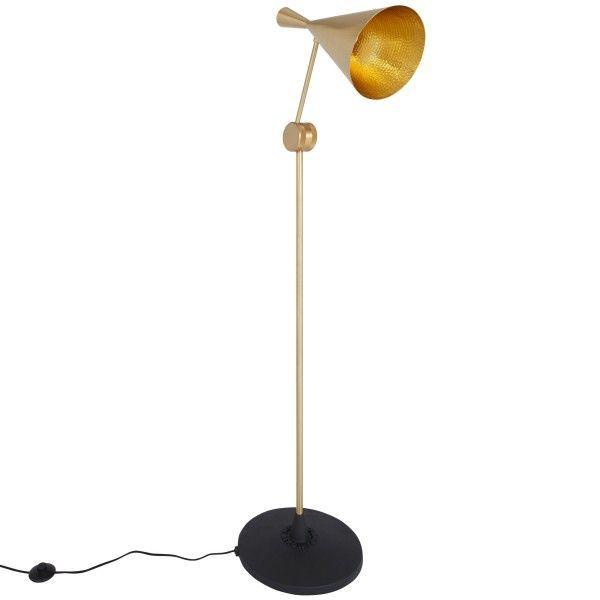 Tom Dixon Beat Light vloerlamp-Messing