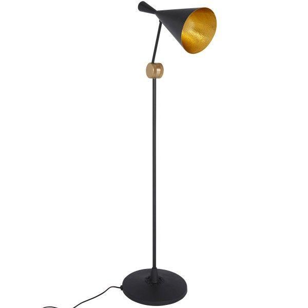 Tom Dixon Beat Light vloerlamp-Zwart