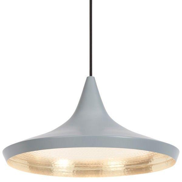 Tom Dixon Beat Light Wide hanglamp-Grijs