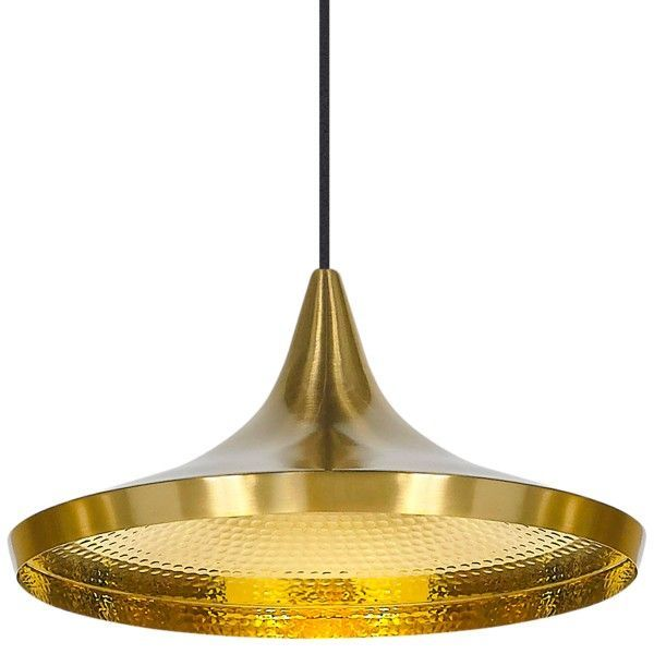 Tom Dixon Beat Light Wide hanglamp-Messing