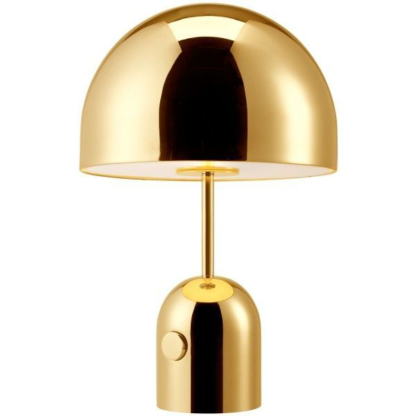 Tom Dixon Bell tafellamp-Messing