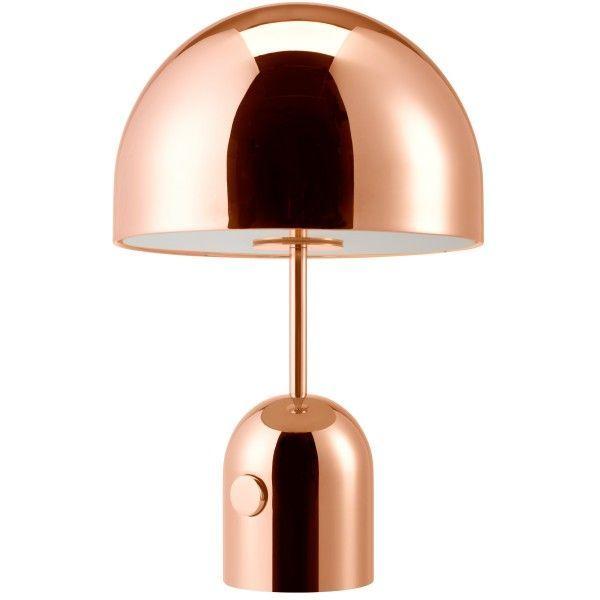 Tom Dixon Bell tafellamp-Koper