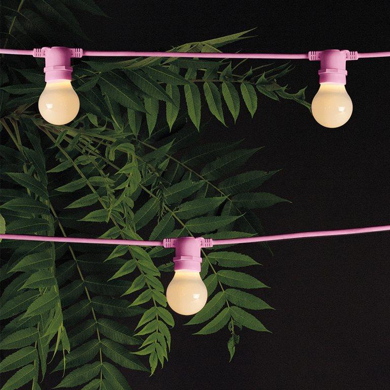 Seletti Bella Vista buitenlamp-Roze