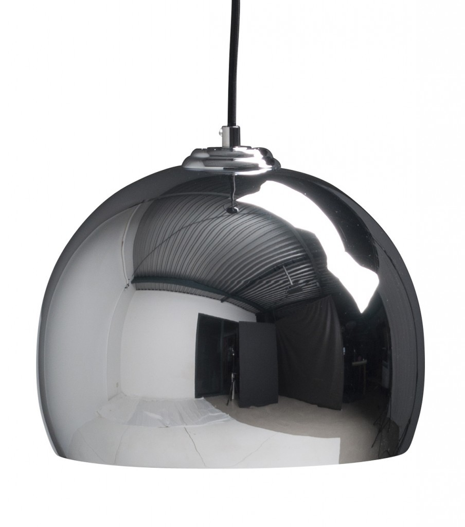 Zuiver Big Glow hanglamp-Chroom