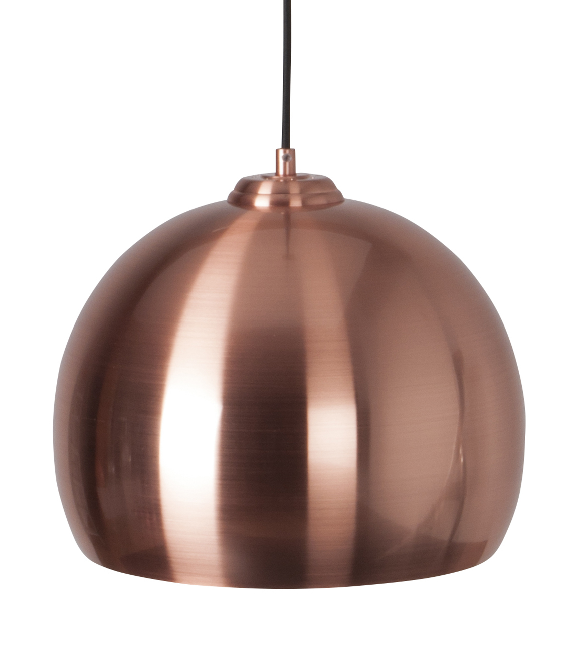 Zuiver Big Glow hanglamp-Koper