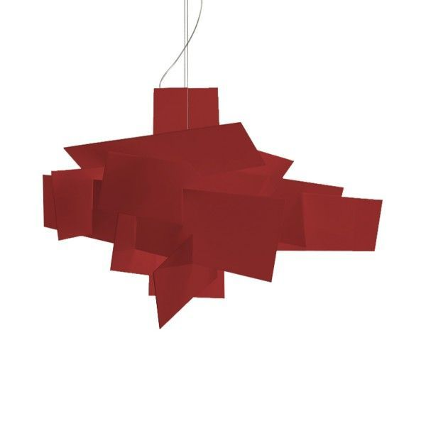 Foscarini Big Bang Large LED hanglamp-Rood