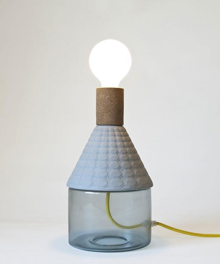 Seletti MRND lamp-Blauw