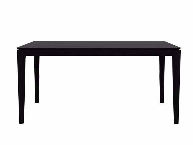 Ethnicraft Bok Black eettafel-160x80 cm