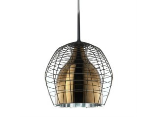 Diesel with Foscarini Cage hanglamp-Piccola-Brons