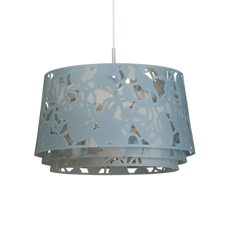 Louis Poulsen Collage 600 hanglamp-Blauw-grijs