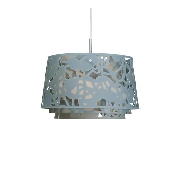 Louis Poulsen Collage 450 hanglamp-Blauw-grijs