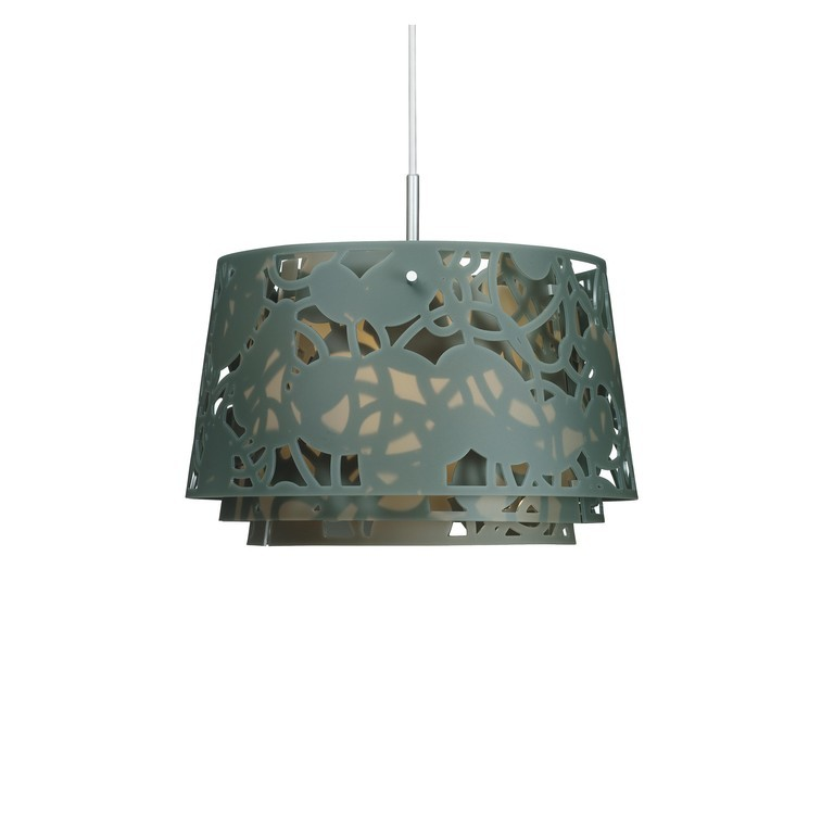 Louis Poulsen Collage 450 hanglamp-Donker groen