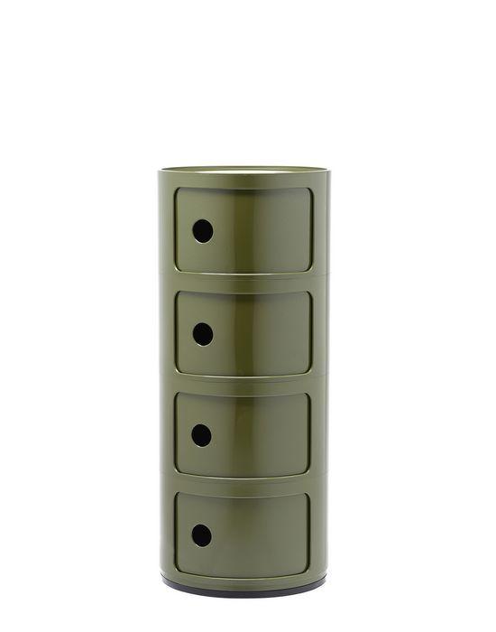 Kartell Componibili kastje -4 hoog-Groen