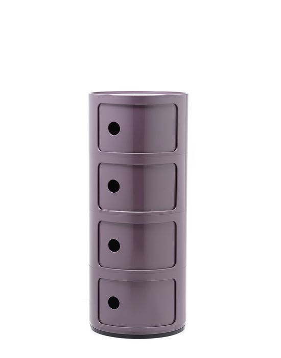 Kartell Componibili kastje -4 hoog-Paars