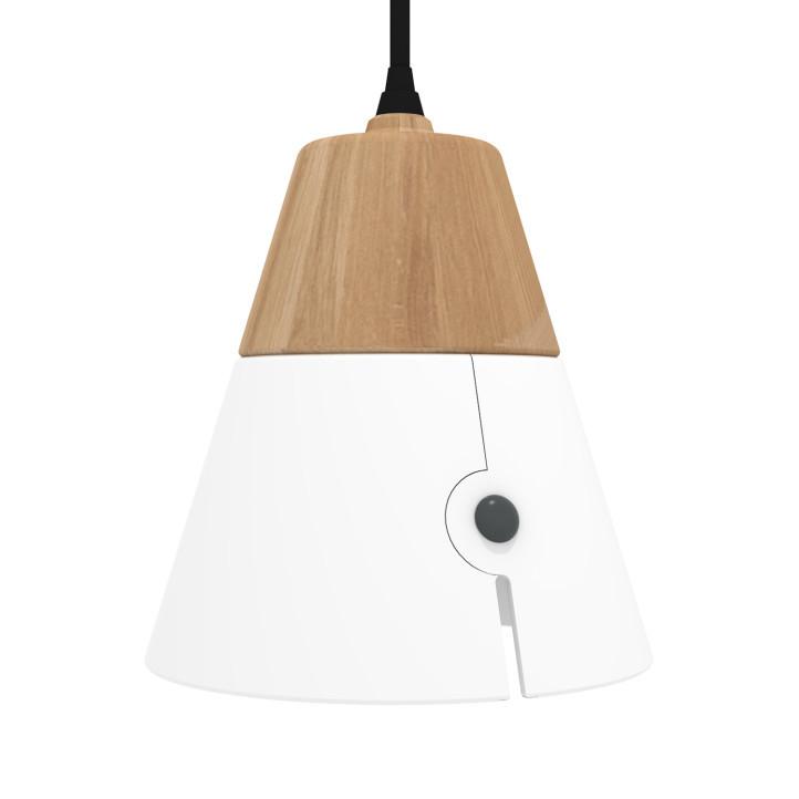 Universo Positivo Cone Lamp Big - hanglamp-Wit
