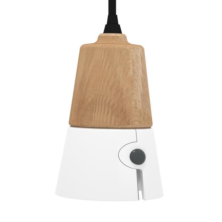Universo Positivo Cone Lamp Short - hanglamp-Wit