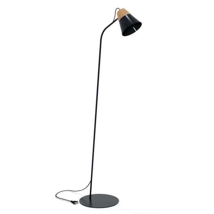 Ethnicraft Cone Lamp Floor - vloerlamp-Zwart
