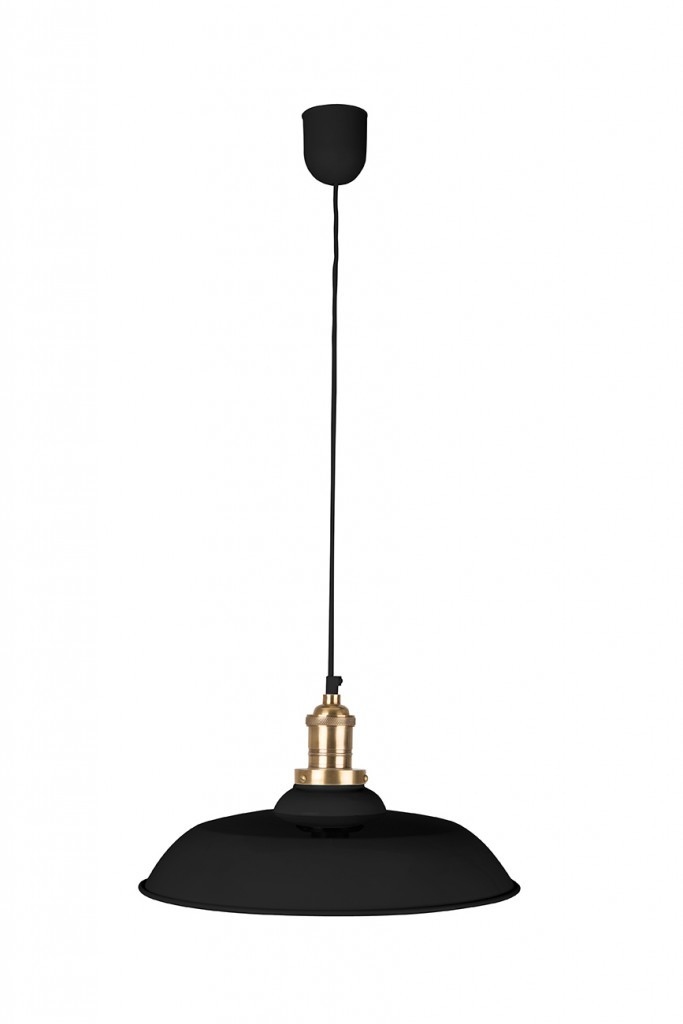 Dutchbone Core hanglamp-Zwart