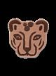 Ferm Living Tufted Leopard Head kleed
