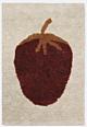 Ferm Living Fruiticana Tufted Aardbei vloerkleed-120x80 cm