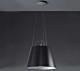 Artemide Tolomeo Mega Sospensione hanglamp-zwart-Kap