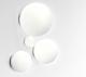Artemide Dioscuri wandlamp-Kap ∅ 14 cm