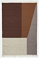 Ferm Living Kelim Borders vloerkleed-160x250 cm