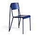 HAY Petit Standard stoel gepoedercoat onderstel-Ultra Marine Blue