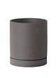 Ferm Living Sekki Pot-Charcoal-Medium