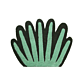 Ferm Living Coral Tufted wand- en vloerkleed