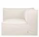 Ferm Living Catena Corner module-Dry Cotton Slub