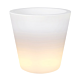 Elho Pure bloempot Straight LED Light-∅ 50 cm