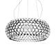 Foscarini Caboche LED hanglamp-Transparant-Grande