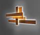 Foscarini Fields wandlamp-Oranje