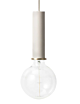 Ferm Living Collect hoog hanglamp-Light grey