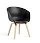 HAY AAC 42 low stoel met zitkussen-Black - Sierra SI1001