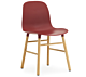 Normann Copenhagen Form Chair stoel-Rood