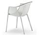 Pedrali Tatami 306 stoel-Wit