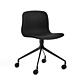 HAY AAC 15 stoel -Steelcut 190-Gepoedercoat Zwart