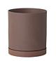 Ferm Living Sekki Pot-Rust-Large