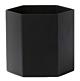 Ferm Living Hexagon Pot Large-Zwart