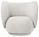 Ferm Living Rico Bouclé fauteuil-Off-white