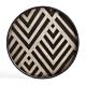 Ethnicraft Graphite Chevron 48 cm -Dienblad