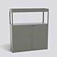 HAY New Order Comb. 204 kast-Army Green-Met muurbeveiligingsbeugel