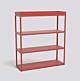 HAY New Order Comb. 303 kast-Red-Met vloerveiligheidsbeugel