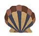 Ferm Living Shell Tufted wand- en vloerkleed
