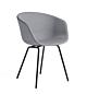 HAY AAC 27 gepoedercoat onderstel stoel-Surface by HAY 120-Gepoedercoat Zwart